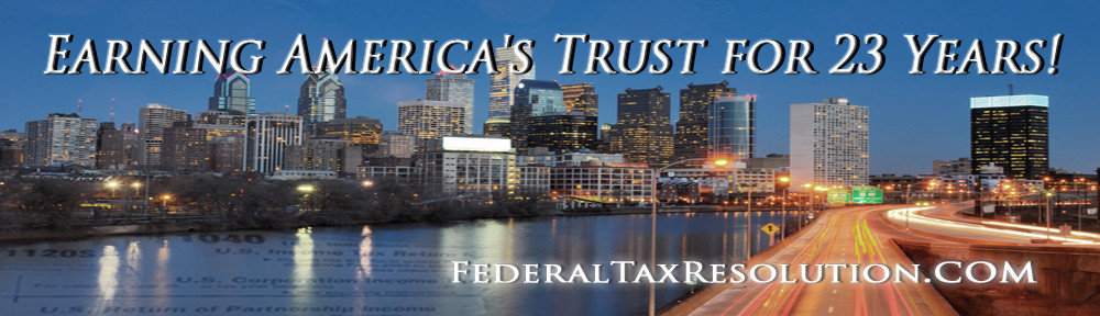 Federal Tax Resolution & IRS Help
