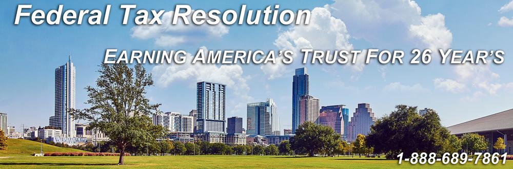 Federal Tax Resolution & IRS Help